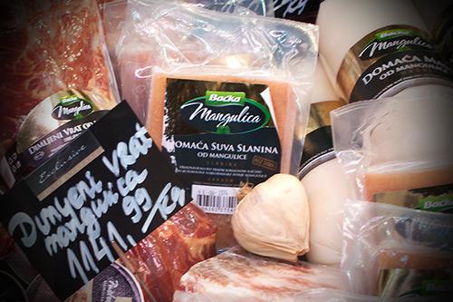 Domaća suva slanina od mangulice